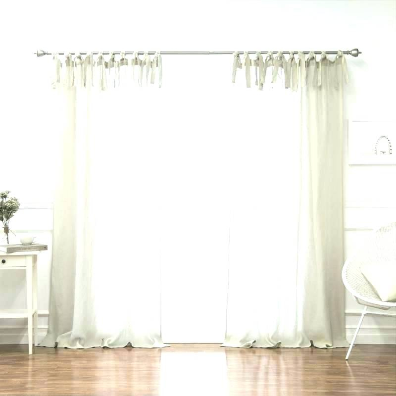 Inspiration about Linen Curtains Inch White Blackout House Design Drop Belgian Throughout Belgian Sheer Window Curtain Panel Pairs With Rod Pocket (#33 of 46)