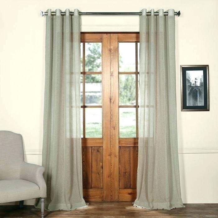 Linen Curtains Target – Baybayanon Regarding Solid Country Cotton Linen Weave Curtain Panels (#24 of 50)
