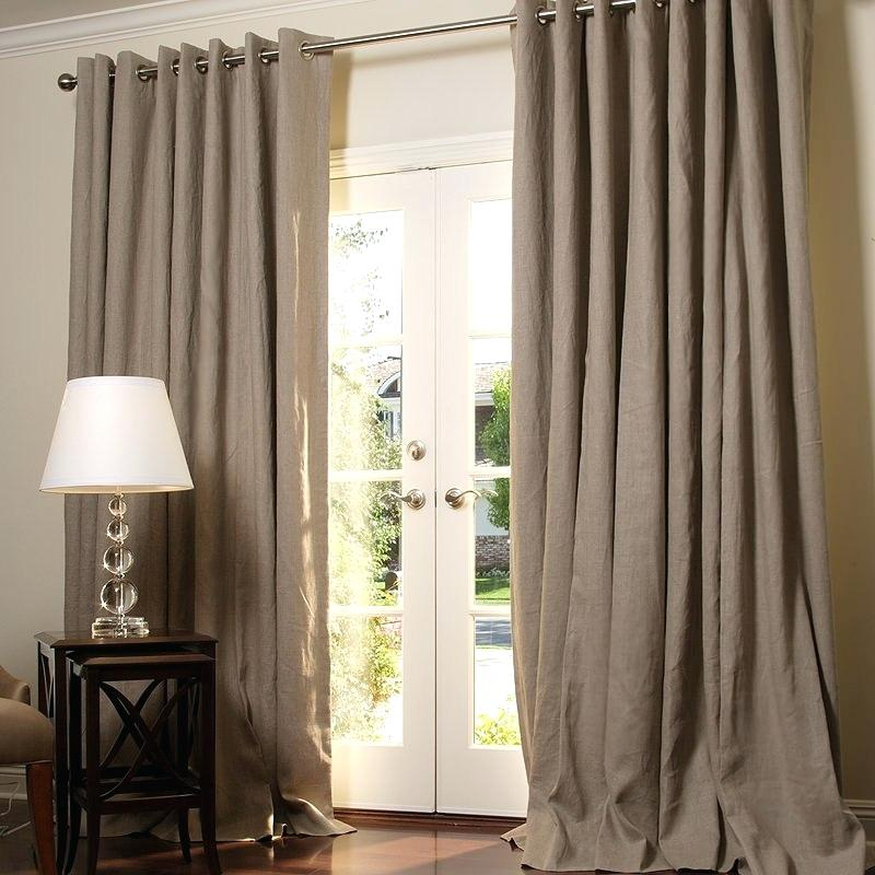 Inspiration about Linen Drapery Panels – Skileon Pertaining To Signature French Linen Curtain Panels (#38 of 50)