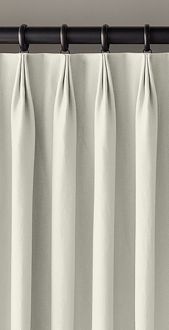 Inspiration about Linen Lined Drapes ~ Triple Top Pinch Pleat Custom Drapery Panels In Your  Choice Of Linen Within Double Pinch Pleat Top Curtain Panel Pairs (#42 of 50)