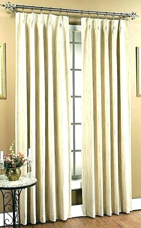 Linen Pinch Pleat Drapes – Jamesajolly Intended For Double Pinch Pleat Top Curtain Panel Pairs (#24 of 50)