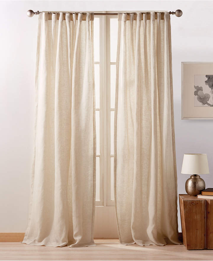 Linen Window Panels – Shopstyle With Knotted Tab Top Window Curtain Panel Pairs (#19 of 50)