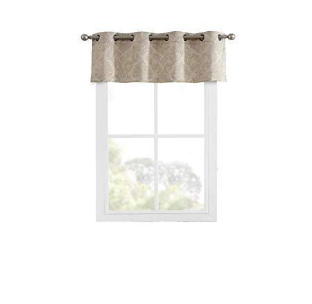 Linenzone Evelyn – Embossed Thermal Weaved Blackout Curtains With Regard To Embossed Thermal Weaved Blackout Grommet Drapery Curtains (View 27 of 42)