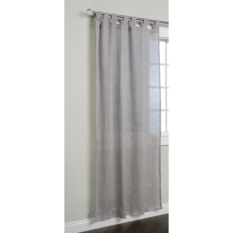 Logan Single Curtain Panel With Regard To Vue Elements Priya Tab Top Window Curtains (View 31 of 36)