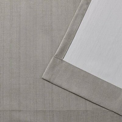 Inspiration about London Thermal Textured Linen Curtain Panel Pair For London Blackout Panel Pair (#8 of 41)