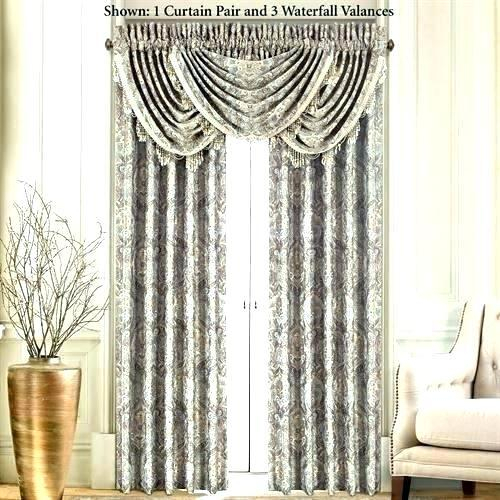 Lovable Living Room Drapes With Valance – Adaziaire (#26 of 39)