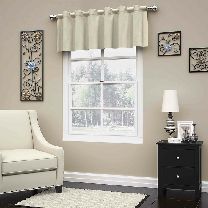 """Inspiration about Lowrey Thermaweave Blackout 52"""" Window Valance Pertaining To Thermaweave Blackout Curtains (#19 of 47)"""