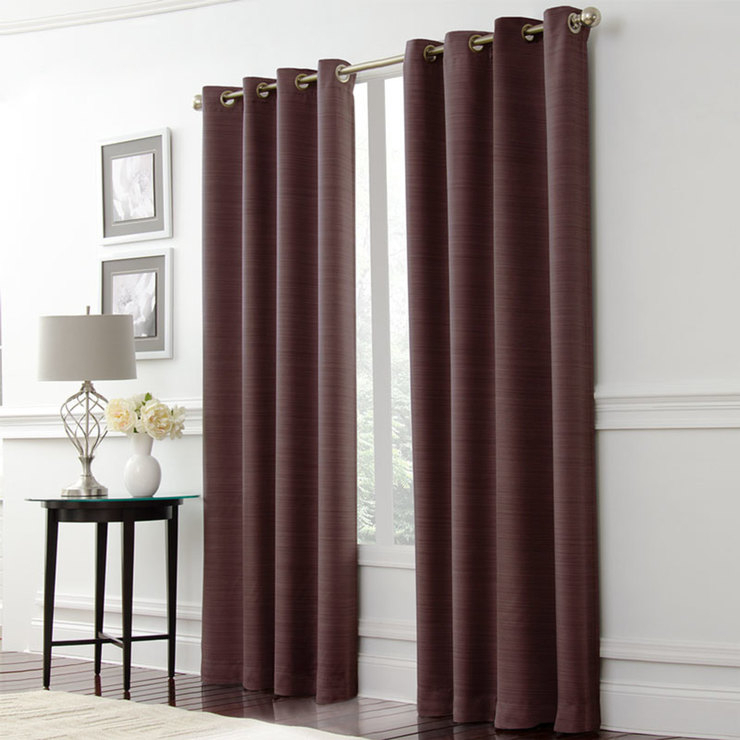 Inspiration about Lunoir Blackout Curtains In 3 Colours, L 229 X W 133 Cm   Costco Uk Throughout Thermaweave Blackout Curtains (#34 of 47)