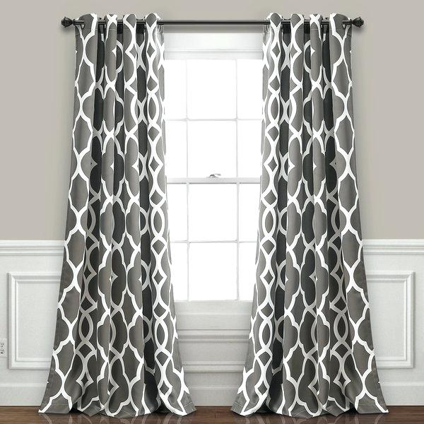 Inspiration about Lush Curtains – Advent 2016 For Weeping Flowers Room Darkening Curtain Panel Pairs (#30 of 50)