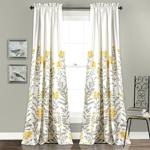 Lush Decor Curtains – Advent 2016 For Leah Room Darkening Curtain Panel Pairs (#28 of 50)