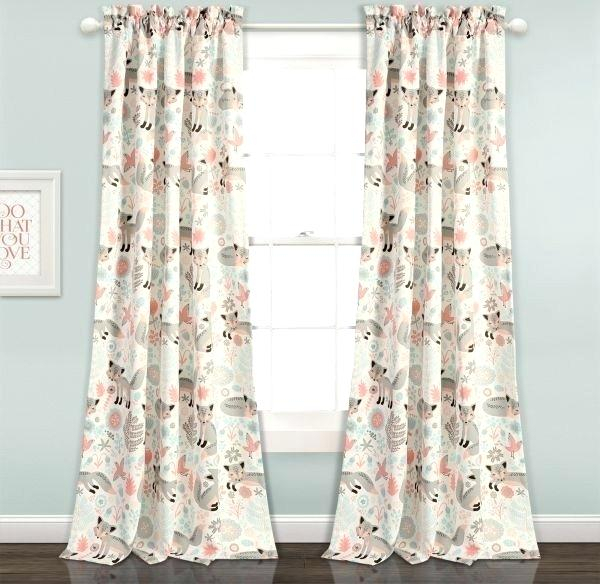 Lush Decor Curtains – Advent 2016 For Leah Room Darkening Curtain Panel Pairs (#29 of 50)