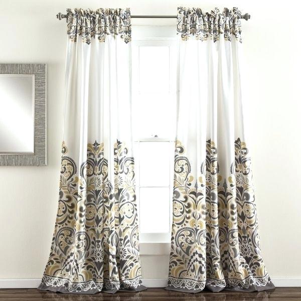 Lush Decor Curtains – Fcotfm (View 16 of 50)