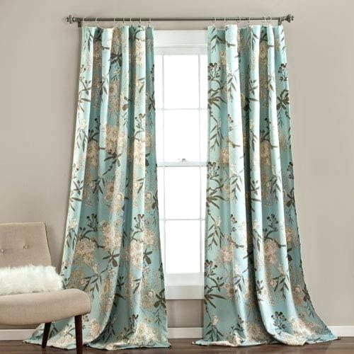 Lush Decor Curtains In Leah Room Darkening Curtain Panel Pairs (#15 of 50)
