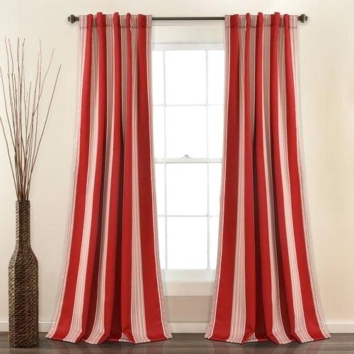 Lush Decor Curtains Intended For Leah Room Darkening Curtain Panel Pairs (#18 of 50)