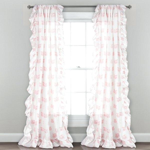 Inspiration about Lush Decor Curtains – Vneklasa Regarding Ruffle Diamond Curtain Panel Pairs (#13 of 50)