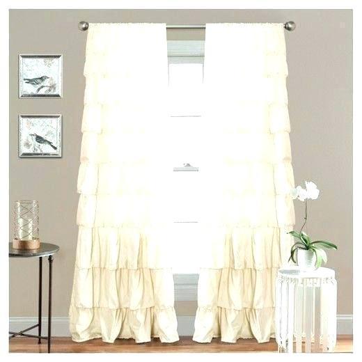 Inspiration about Lush Decor Curtains Window Belle Chevron Blackout Shower Regarding Ruffle Diamond Curtain Panel Pairs (#27 of 50)