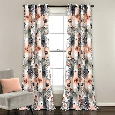 Lush Decor Curtains With Knotted Tab Top Window Curtain Panel Pairs (#20 of 50)