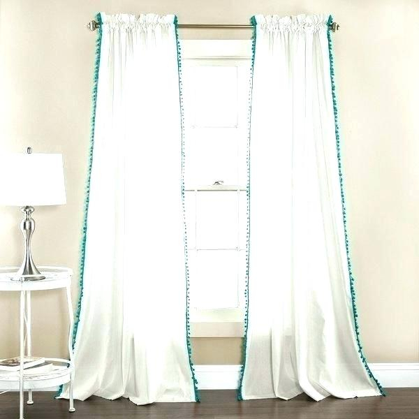 Inspiration about Lush Decor Curtains With Regard To Linen Button Window Curtains Single Panel (#26 of 40)