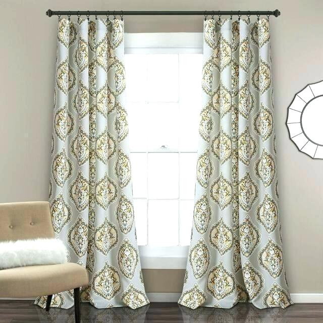 Lush Decor Curtains Within Leah Room Darkening Curtain Panel Pairs (#25 of 50)