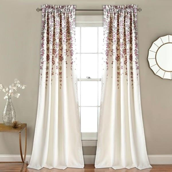 Inspiration about Lush Decor Curtains Within Leah Room Darkening Curtain Panel Pairs (#7 of 50)