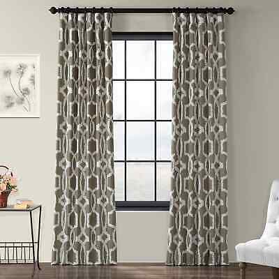 Lush Decor Edward Moroccan Pattern Room Darkening Curtain For Edward Moroccan Pattern Room Darkening Curtain Panel Pairs (View 24 of 50)
