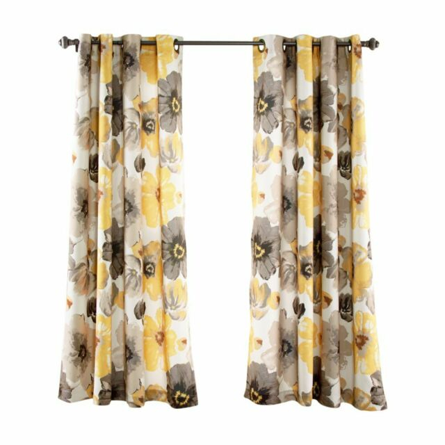 Inspiration about Lush Decor Leah Room Darkening Panel Pair Pertaining To Leah Room Darkening Curtain Panel Pairs (#3 of 50)