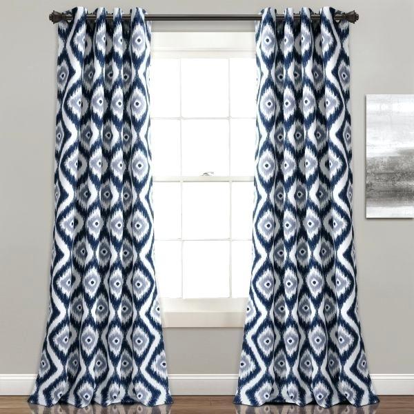Inspiration about Lush Decor Lush Decor Lush Diamond Room Darkening Window For Leah Room Darkening Curtain Panel Pairs (#5 of 50)