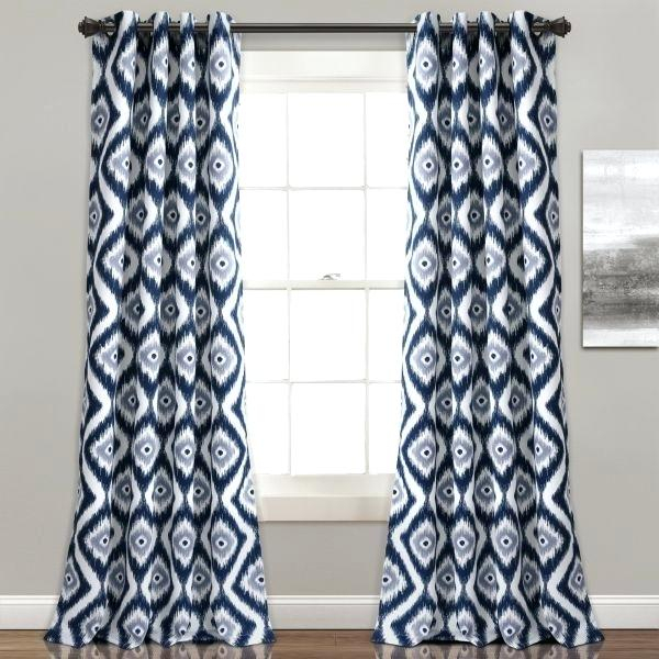Lush Decor Lush Decor Lush Diamond Room Darkening Window In Weeping Flowers Room Darkening Curtain Panel Pairs (View 25 of 50)
