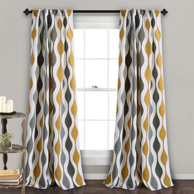 """Lush Decor Lydia Ruffle Window Panels Blush 84"""" X 40"""" 2 Pc For Lydia Ruffle Window Curtain Panel Pairs (View 25 of 43)"""