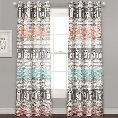 Lush Decor Stripe Room Darkening Window Curtain Panel Pair Throughout Julia Striped Room Darkening Window Curtain Panel Pairs (#27 of 37)
