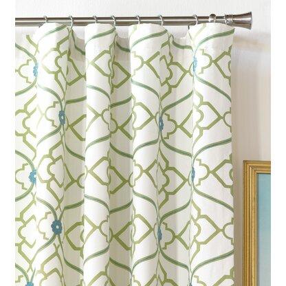 "Luxury 84"" Curtains & Drapes | Perigold Regarding Infinity Sheer Rod Pocket Curtain Panels (#23 of 50)"