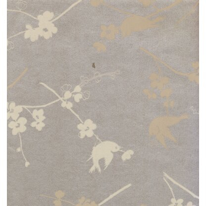 Inspiration about Luxury Adult Wallpaper | Perigold With Gray Barn Dogwood Floral Curtain Panel Pairs (#42 of 48)