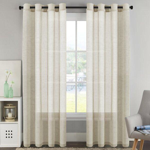 Luxury European Curtains   Wayfair In Luxury Collection Venetian Sheer Curtain Panel Pairs (#23 of 36)