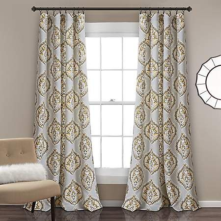 Madison Park Alana Grommet Top Curtain Panel Jcpenney Within Ink Ivy Ankara Cotton Printed Single Curtain Panels (View 35 of 50)