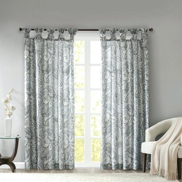 Madison Park Curtains – Archimano Pertaining To Fretwork Print Pattern Single Curtain Panels (View 25 of 46)