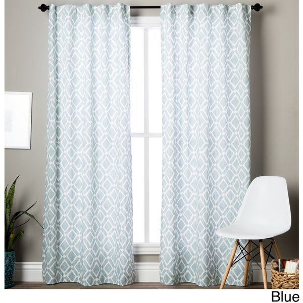 Madison Park Ella Curtain Panel | House | Panel Curtains With Ella Window Curtain Panels (View 38 of 50)
