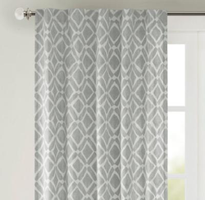 Madison Park Ella Rod Pocket Curtain Window Panel Drapery 42 Within Ella Window Curtain Panels (View 39 of 50)