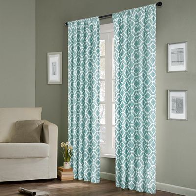 Madison Park Ella Window Panel | Home Decor | Drapes Intended For Ella Window Curtain Panels (View 40 of 50)