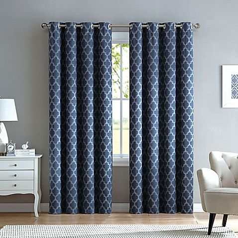 Marrakesh Grommet Top Window Curtain Panel | Home/bed Within The Curated Nomad Duane Jacquard Grommet Top Curtain Panel Pairs (#16 of 50)