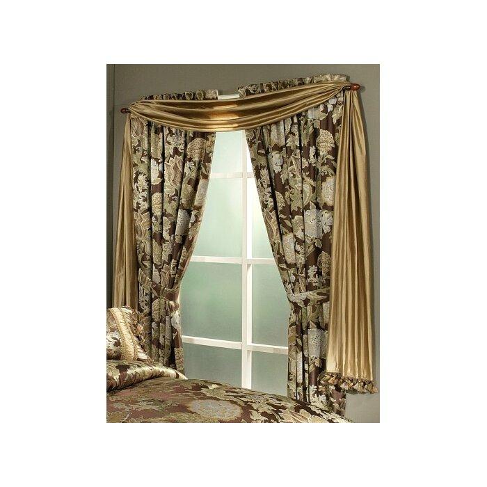 Marylou Window Floral/flower Room Darkening Rod Pocket Panel Pair Regarding Caldwell Curtain Panel Pairs (View 9 of 27)