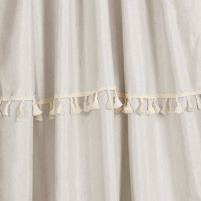 Maxwell Solid Semi Sheer Rod Pocket Curtain Panels Pertaining To Rod Pocket Curtain Panels (View 20 of 34)