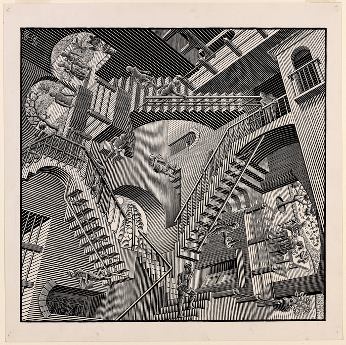 Mc Escher Exhibition Headlines The National Gallery Of Intended For The Gray Barn Kind Koala Curtain Panel Pairs (View 45 of 50)