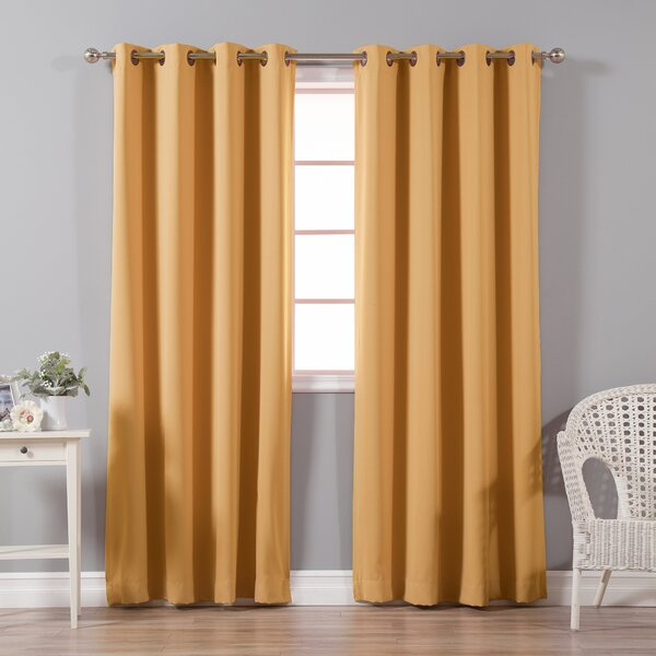 Mecca Orange Curtains | Wayfair For Mecca Printed Cotton Single Curtain Panels (View 46 of 50)