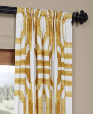 Mecca Printed Cotton 50 X 96 Curtain Panel | Products In For Mecca Printed Cotton Single Curtain Panels (View 7 of 50)