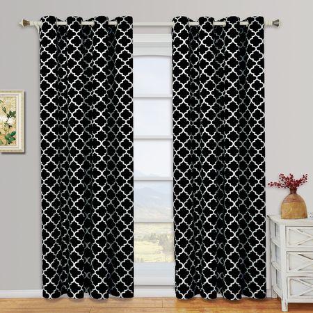 Meridian Gray Grommet Room Darkening Window Curtain Panels For Grommet Room Darkening Curtain Panels (View 24 of 50)