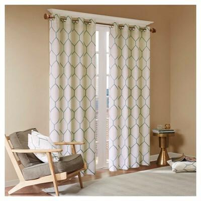 Metallic Curtain Panels – V9Oj Intended For Elegant Comfort Luxury Penelopie Jacquard Window Curtain Panel Pairs (View 41 of 50)