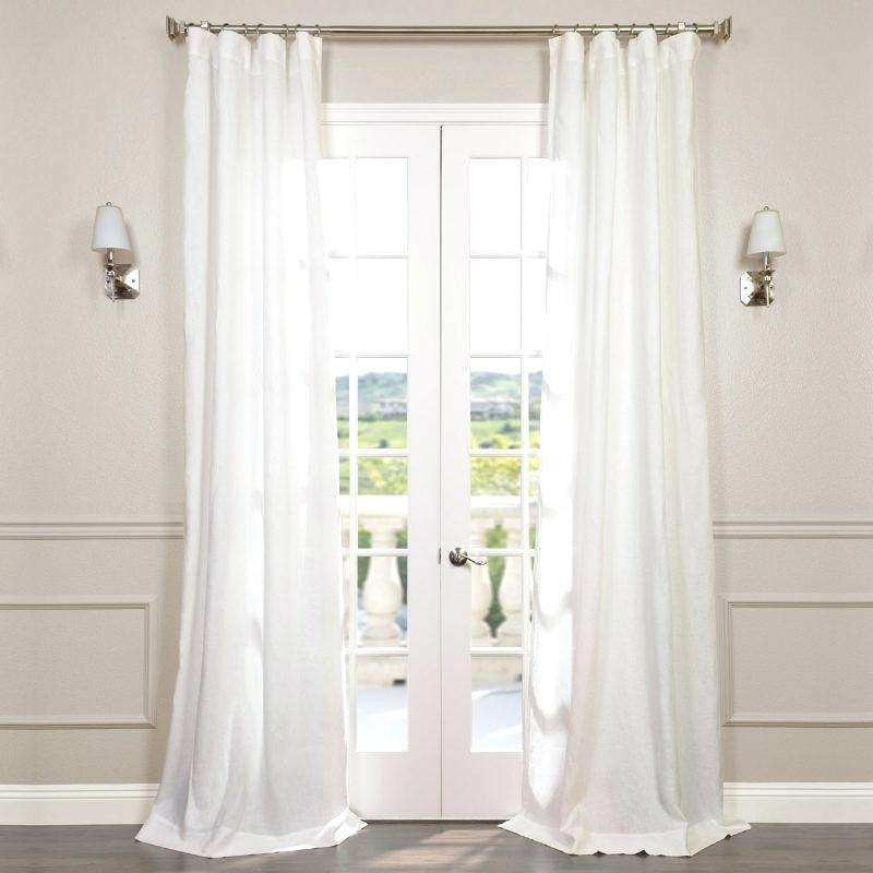 Mixing Curtain Panels – Smartmoneycard With Regard To Signature French Linen Curtain Panels (#27 of 50)