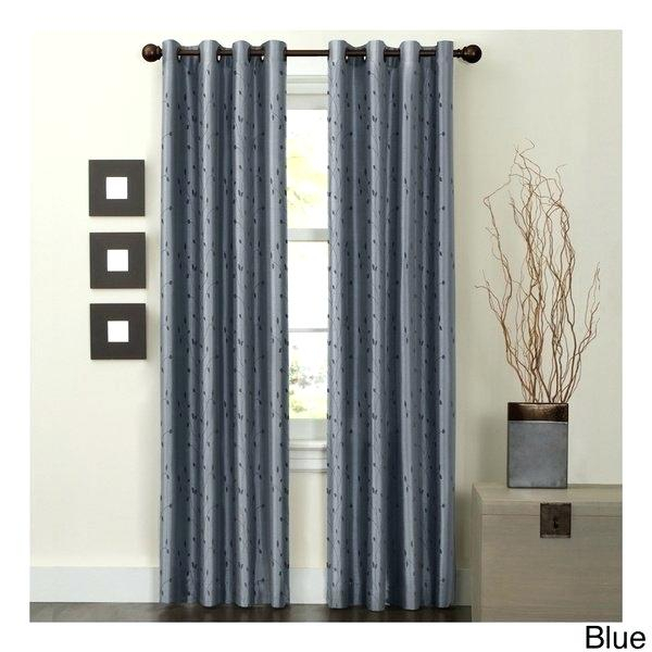 Mocha Blackout Curtains – Idlab With Overseas Faux Silk Blackout Curtain Panel Pairs (#28 of 41)