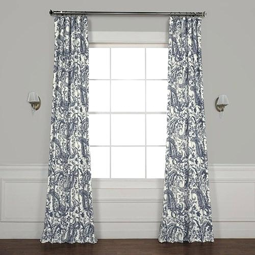 Modern Curtain Panels Drapery Living Room Curtains Drapes Throughout Ink Ivy Ankara Cotton Printed Single Curtain Panels (View 22 of 50)
