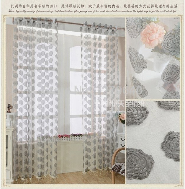 Modern Patterned Sheer Curtains – Eggplant Show (View 30 of 46)
